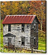 If These Walls Could Talk Acrylic Print