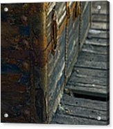 If This Old Trunk Could Talk Acrylic Print