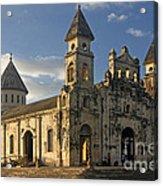 Iglesia De Guadelupe In Granada Nicaragua Acrylic Print