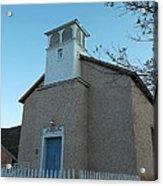 Iglesia De Jaun Batista Lincoln City New Mexico Acrylic Print