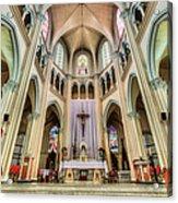 Iglesia De San Isidro De Coronado In Costa Rica Acrylic Print
