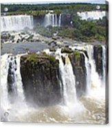Iguacu Falls Brazilian Side Acrylic Print