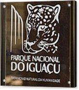 Iguacu National Park - Brazil Acrylic Print
