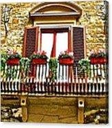 Il Balcone Di Firenze Acrylic Print