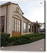 Il Fornaio Italian Restaurant In Coronado California 5d24362 Acrylic Print by Wingsdomain Art and Photography