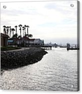 Il Fornaio Italian Restaurant In Coronado California 5d24379 Acrylic Print by Wingsdomain Art and Photography