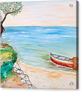 Il Pescatore Solitario Acrylic Print