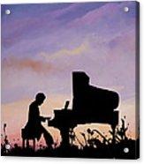 Il Pianista Acrylic Print