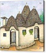 Il Trullo Alberobello Acrylic Print