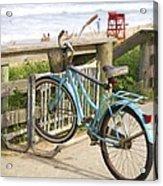 Ill Get My Bike Acrylic Print