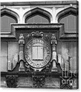 Illinois Wesleyan University Seal Acrylic Print