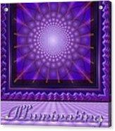 Illuminating Violet Acrylic Print