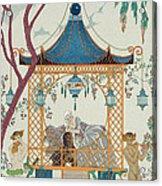 Illustration For 'fetes Galantes' Acrylic Print