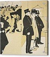 Illustration From Lassiette Au Beurre Acrylic Print
