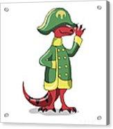 Illustration Of A Tyrannosaur Rex Acrylic Print