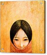 Image Of Tibet Acrylic Print by Shijun Munns