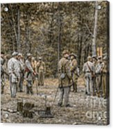 Images Of The Civil War Confederate Soldiers Acrylic Print