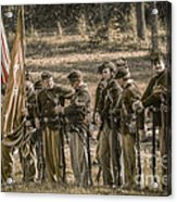 Images Of The Civil War Union Soldiers Acrylic Print