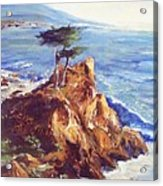 Imaginary Cypress Acrylic Print