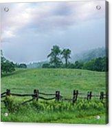 Imaginary Morning On The Blue Ridge I Acrylic Print