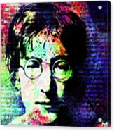 Man Of Song Acrylic Print