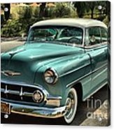 Img 8462_ Chevy Bellaire Acrylic Print