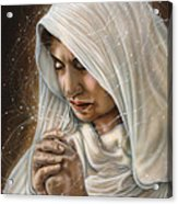 Immaculate Conception - Mothers Joy Acrylic Print