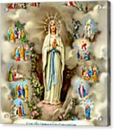 Immaculate Conception Acrylic Print