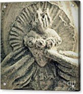 Immaculate Heart Of Mary Acrylic Print