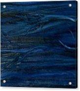 Immense Blue Acrylic Print