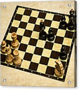 Immortal Chess - Anand Vs Topalov 2005 Acrylic Print