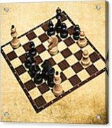 Immortal Chess - Byrne Vs Fischer 1956 Acrylic Print
