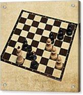 Immortal Chess - Kasparov Vs Topalov 1999 Acrylic Print