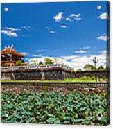 Imperial City Hue Vietnam Acrylic Print