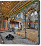 Imperial Hall Of Harem In Topkapi Palace Acrylic Print by Ayhan Altun
