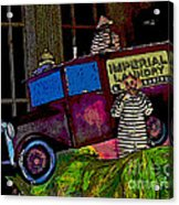 Imperial Laundry Truck Acrylic Print