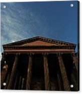Imposing And Enigmatic Structure Acrylic Print