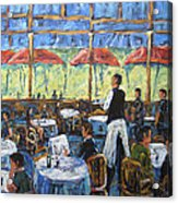 Impresionnist Cafe By Prankearts Acrylic Print