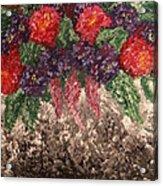 Impression Flowers Acrylic Print
