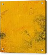 Impression Golden Acrylic Print