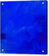 Impression Midnight Blue Acrylic Print