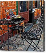 Impressionism The Looney Bean Cafe  Acrylic Print