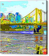 Impressionist Clemente Bridge 2 Acrylic Print