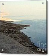 Impressionist Of The Dead Sea Acrylic Print