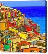 Impressionistic Photo Paint Gs 008 Acrylic Print
