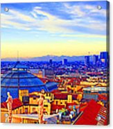 Impressionistic Photo Paint Gs 011 Acrylic Print by Catf