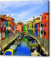 Impressionistic Photo Paint Gs 013 Acrylic Print