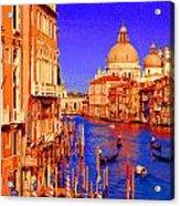 Impressionistic Photo Paint Gs 014 Acrylic Print