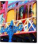 Impressionistic Photo Paint Ls 005 Acrylic Print