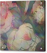 Impressionistic Spring Bouquet Acrylic Print